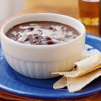 Salsa Bean Soup | Soup | Pinterest