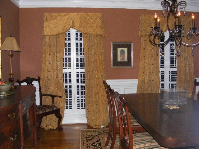 dining room window treatments home decor pinterest