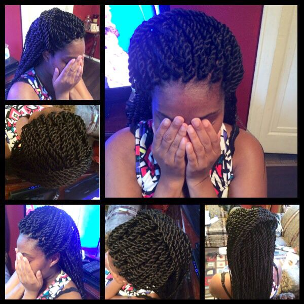 Jumbo Crochet Twists kinky hair care Pinterest