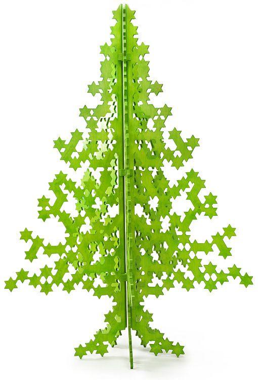 A plywood christmas tree timefordeco home decorations for Plywood christmas tree