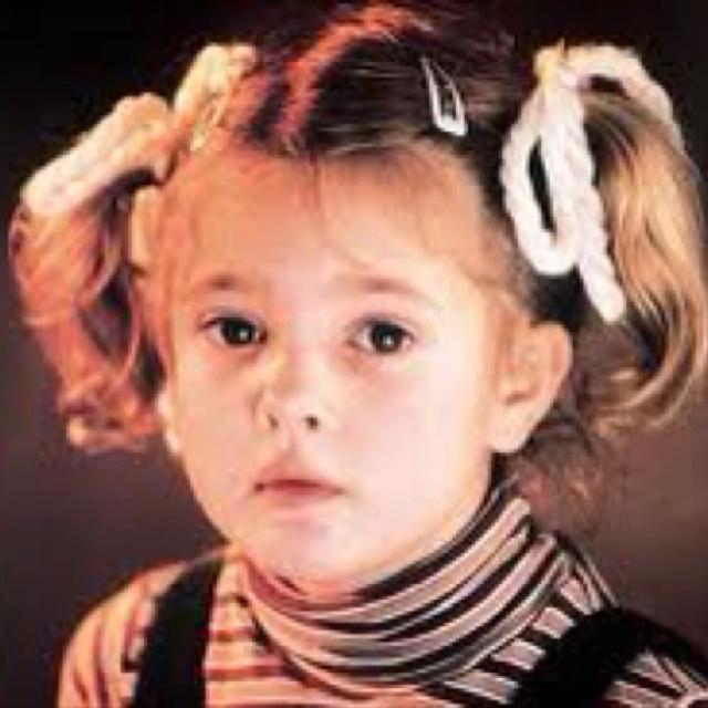 Baby girl Drew fabulous Barrymore | Drew Barrymore | Pinterest