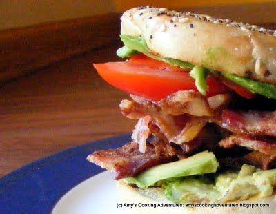 Amy's Cooking Adventures: Bacon, Avocado, & Tomato Sandwich