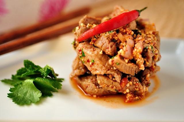 Thai Grilled Pork Salad | Asian foodies foodies | Pinterest