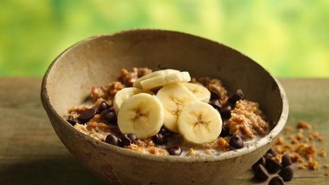 ingredient breakfast - Nature Valley Crunchy Oat bars, Banana ...