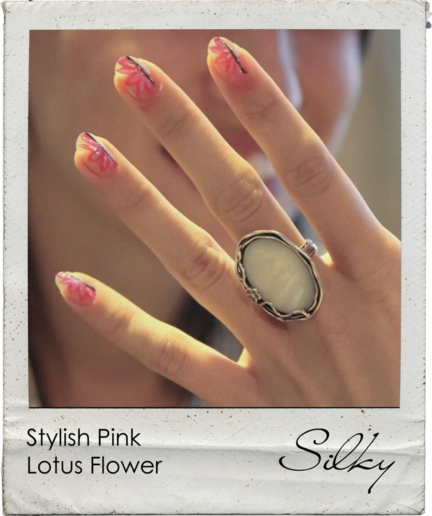 pink lotus nails gilbert