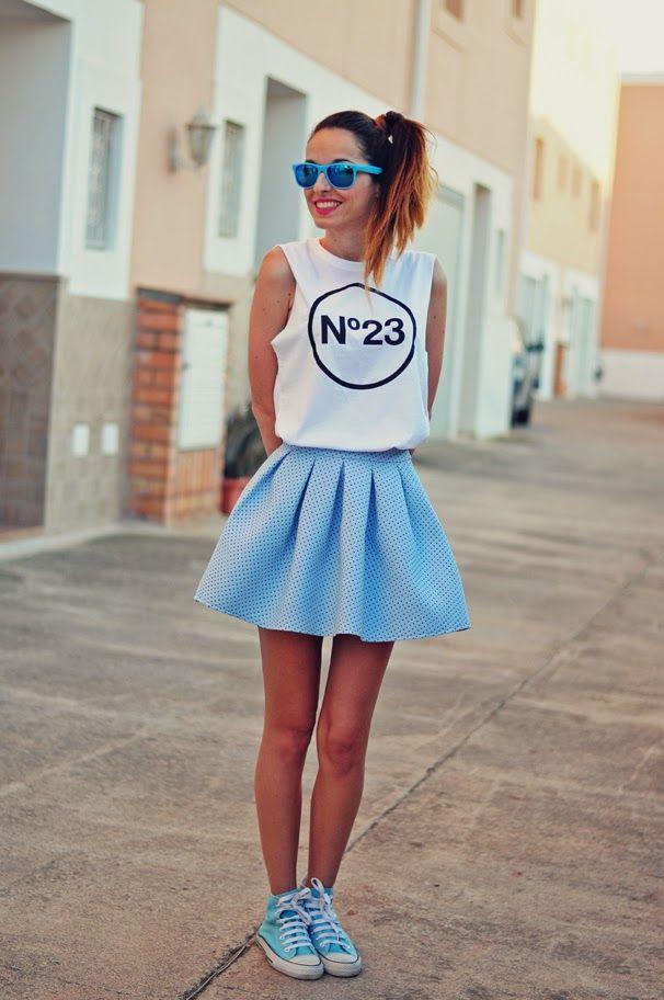 look azul pastel