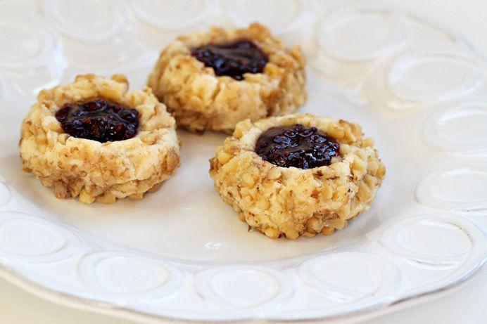 Jam Thumbprints | Food | Pinterest