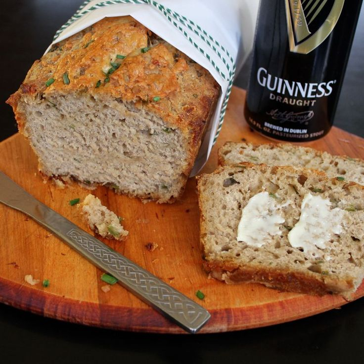 cheddar amp chive guinness bread from lea amp jay