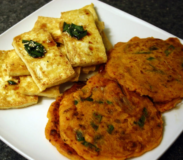 Kimchi Tofu Summer Rolls Recipe — Dishmaps
