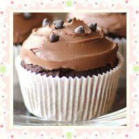 ... VEGAN~ Bittersweet Chocolate Quinoa Cupcakes with Chocolate Frosting