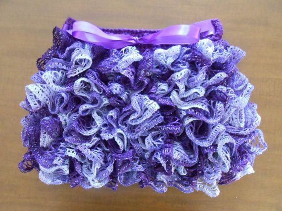 Crocheting Ruffles : Crochet Ruffle Skirt by AprilHCreations on Etsy, $32.00