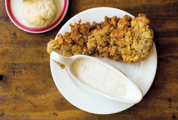 Nobody makes Chicken-Fried Steak with Cream Gravy like The Homesick ...