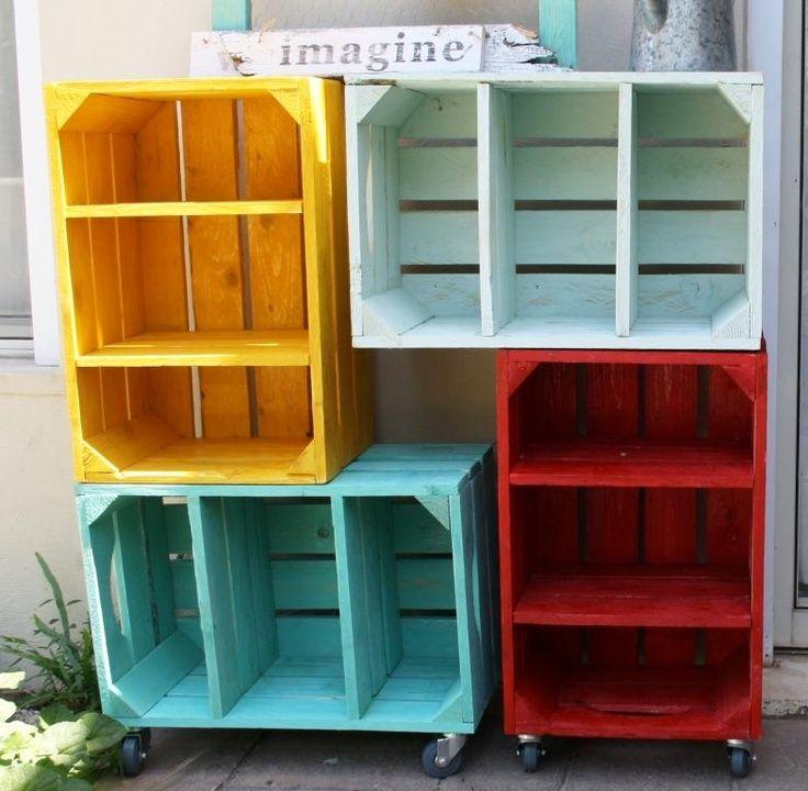 Box shelves diy storage shelving ideas kids room ideas for Diy shelves pinterest