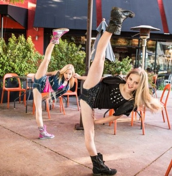 Mia Diaz jordyn jones tilts fierce WERK girls cute best ...