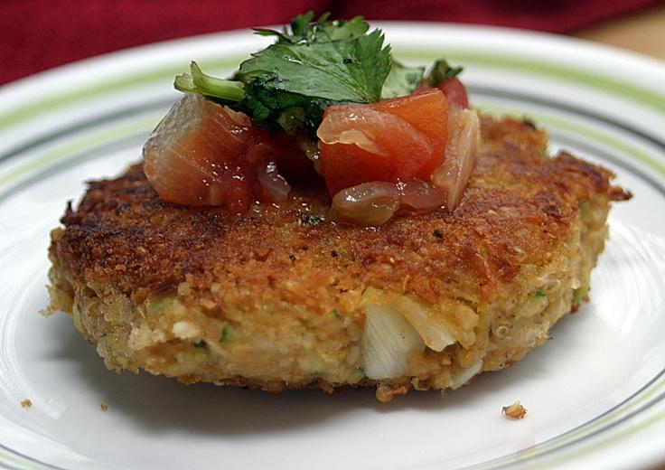 Zucchini Quinoa Burgers {Vegan}: This Week's Cravings {Freezer Meals ...
