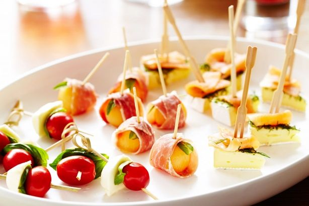 Easy canape trio for Easy canapes