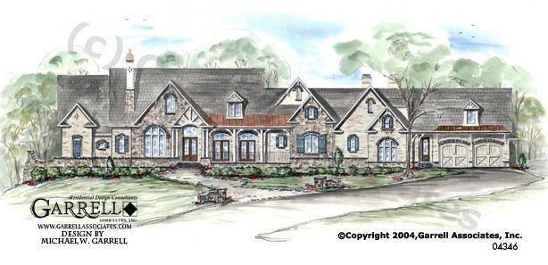 Garrell Associates Inc Casa Di Giardino House Plan