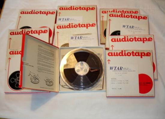 Open Reel Tape Lot for sale!