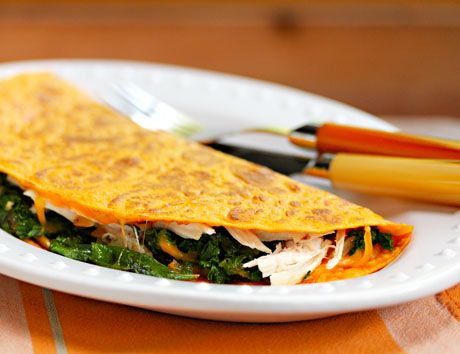 Turkey, kale and cheese quesadillas | Food :D | Pinterest