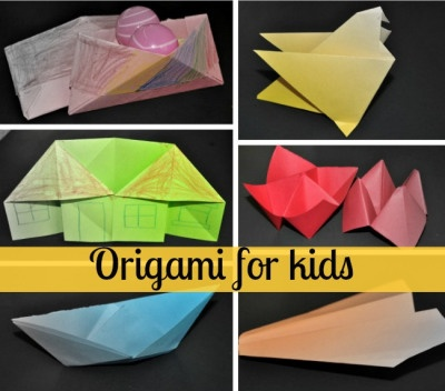 """Origami means """" folding paper"""". Origami for kids can be much more than ..."""