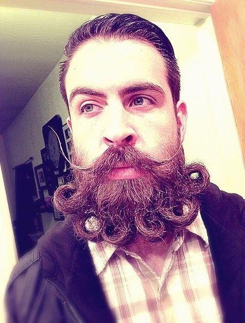 Crazy Beard Designs Fashionable...
