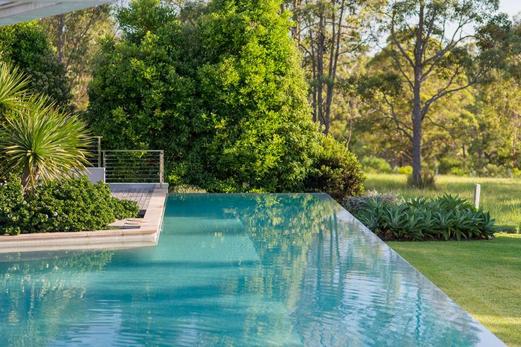 rural landscape design swimming pool landscaping pinterest