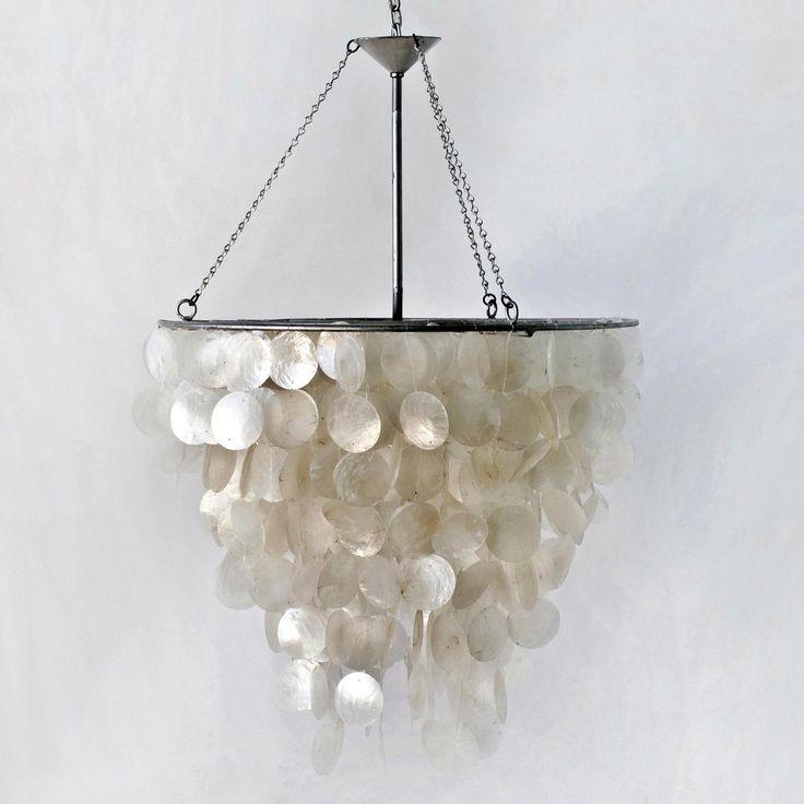 worlds away capiz shell chandelier lighting pinterest. Black Bedroom Furniture Sets. Home Design Ideas