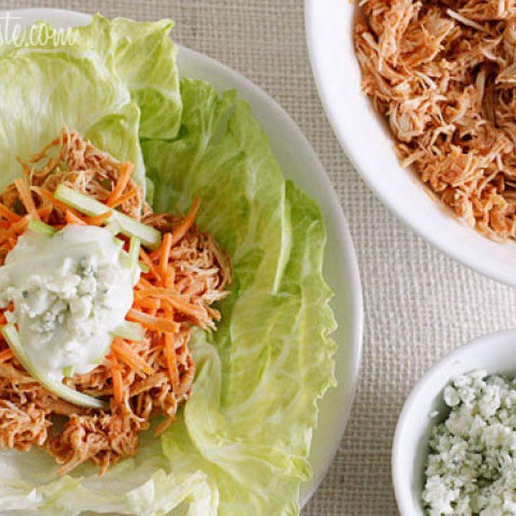 Crock Pot Buffalo Chicken Lettuce Wraps | yummm | Pinterest