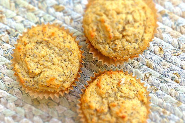 Lemon Poppy Seed Yogurt Muffins | Recipe