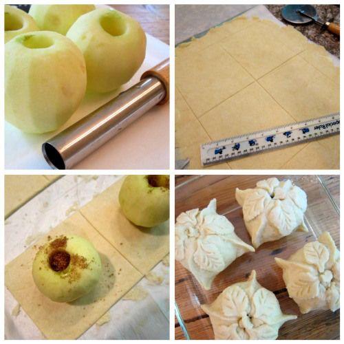 Apple Dumplings with Cider-Rum Sauce | FALL Festivities! | Pinterest