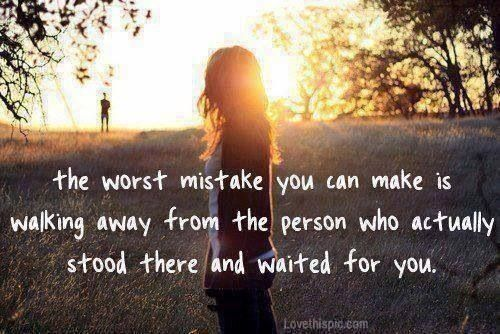 Quote - Walking Away Quotes Pinterest