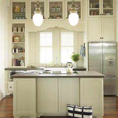 Glass upper cabinets kitchen dining pinterest for Glass upper kitchen cabinets