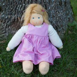 Nanchen Waldorf Girl Doll made in Germany. www.bellalunatoys.com