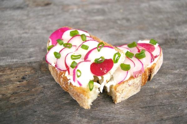 Radish Tea Sandwiches | Ladies Luncheon & Tea Party Ideas | Pinterest