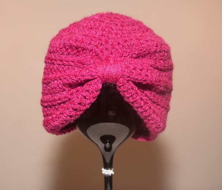 Crochet Pattern Turban Hat : Crochet Baby/Child Turban Hat From Mummy With Love ...