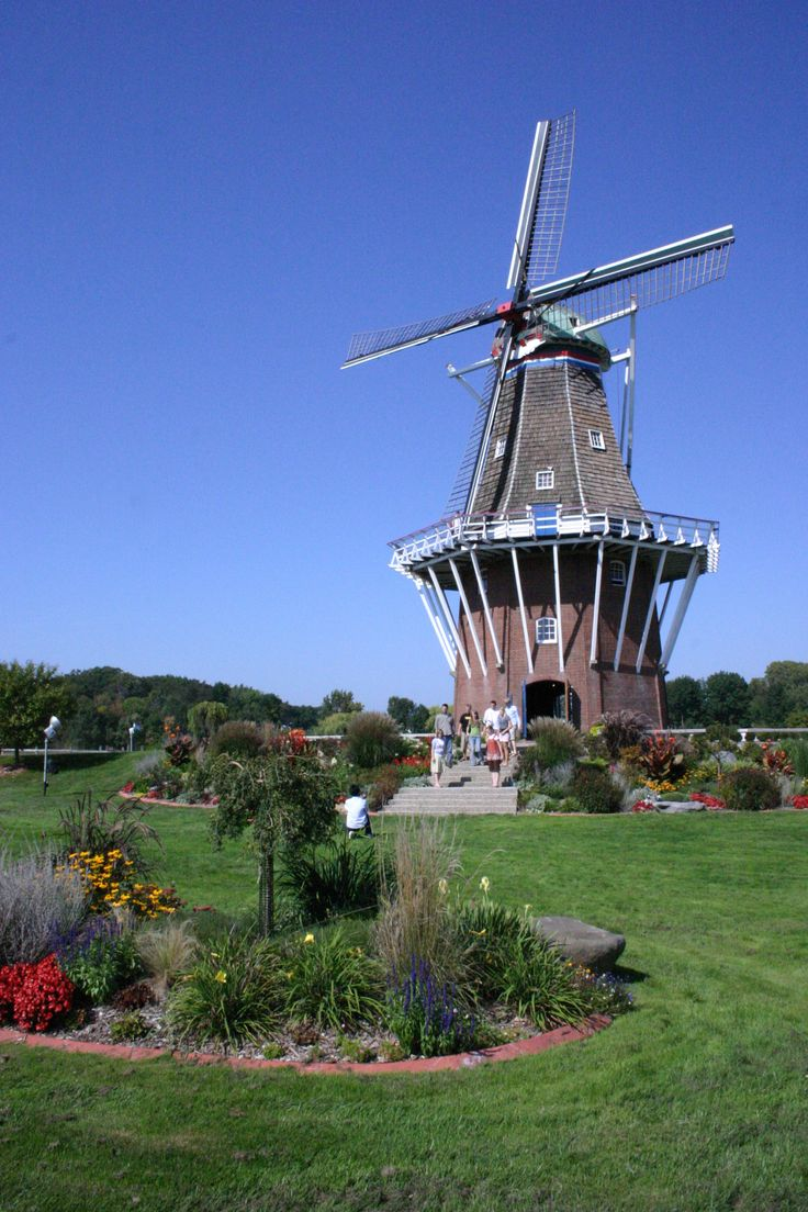 Windmill Island Holland Michigan Michigan Pinterest