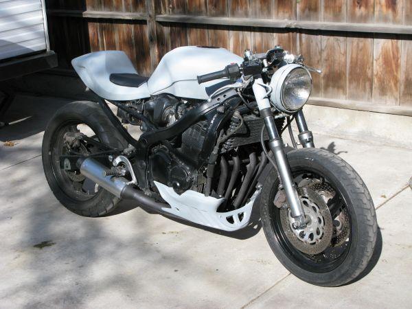Image Gallery Of Suzuki Gsxr Cafe Racer
