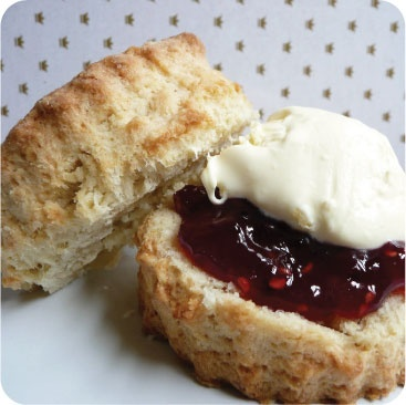 Classic Scones With Devonshire Cream Recipe — Dishmaps