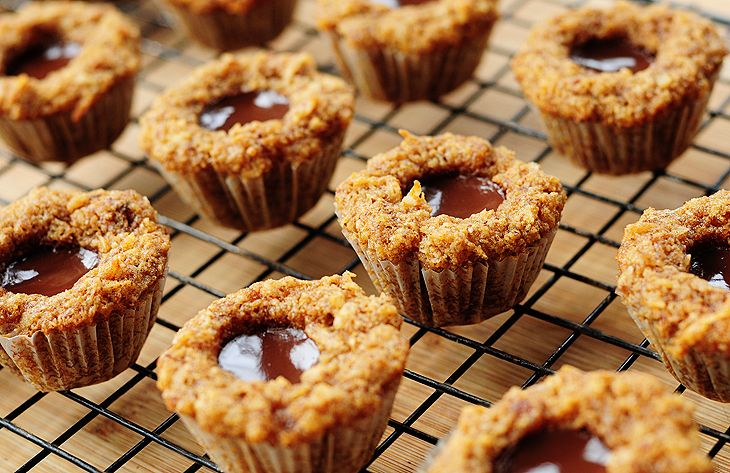 Chocolate Coconut Mini-Muffins are so very simple. (AND they're gluten ...