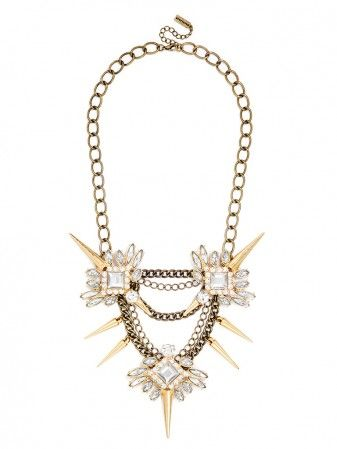 Spiked Lily Necklace
