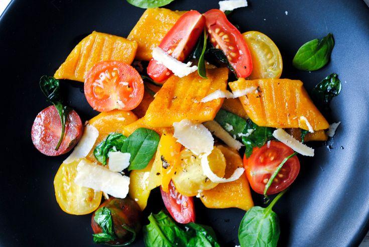 Buckwheat pumpkin & ricotta gnocchi   Inspiring Eats   Pinterest