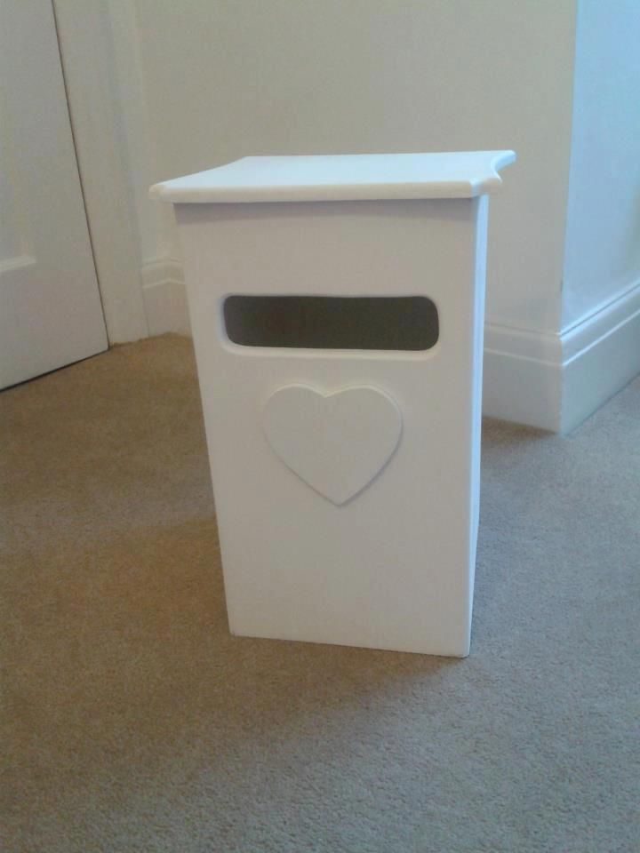 Wedding Gift Post Boxes For Cards : Plain Wooden Card Holder Post Box Wedding Christening Birthday
