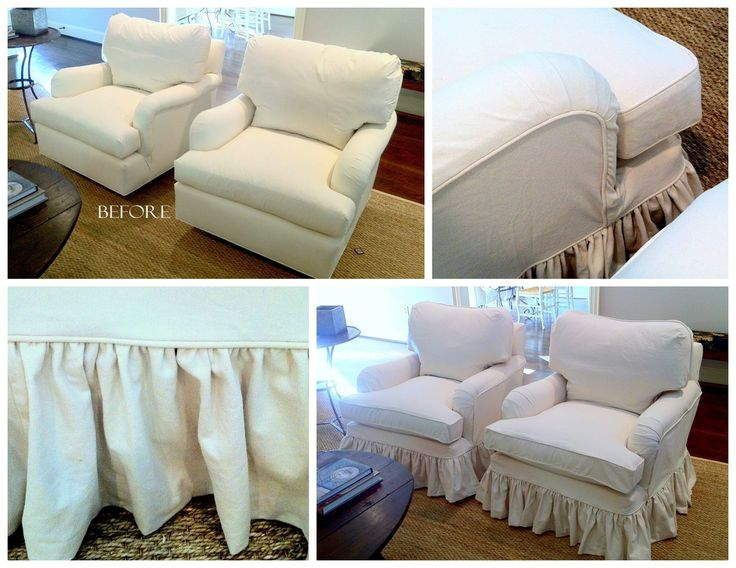 Slipcover by LS Slipcovers & Bedding.