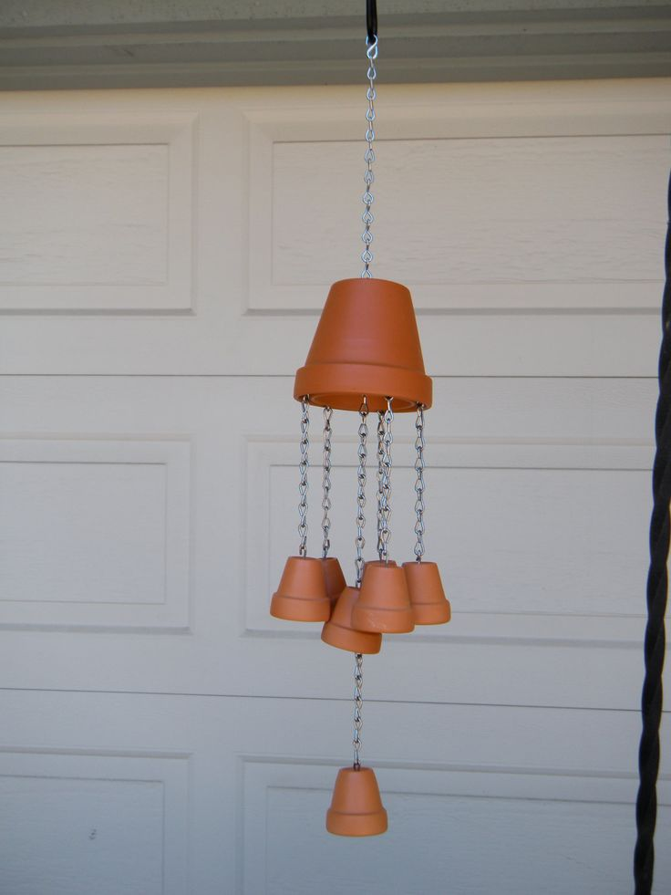 Clay pot windchime | Windchimes | Pinterest