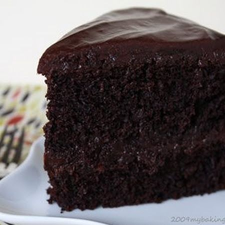 Black Magic Cake | Cake Fight! | Pinterest