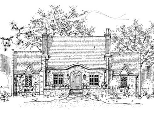 Storybook Cottage House Plans Cabins Pinterest