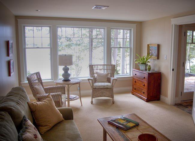 Windows Great Room Window Treatments Pinterest