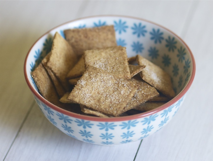 Homemade Wheat Thins-I made these today and the kids loved them. I'm ...