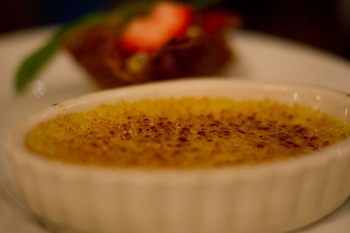 Pistachio Creme Brulee From Tony's Town Square at Disney's Magic ...