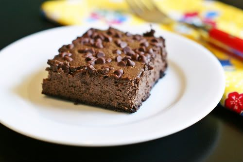 Light(ish) Chocolate Cheesecake Squares | Recepies | Pinterest